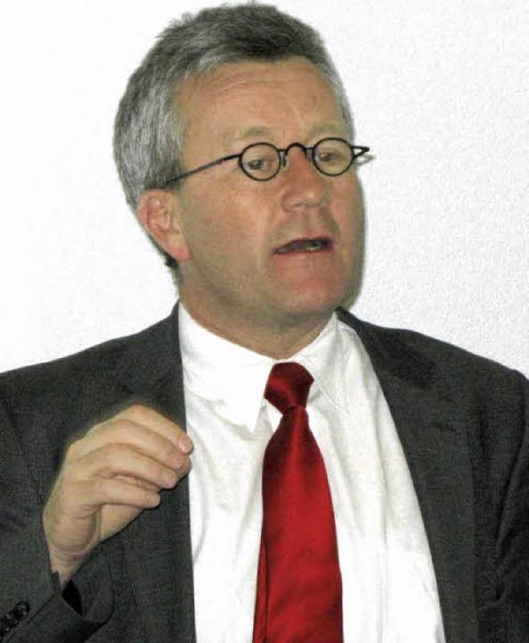 Der Vizepräsident des Tras, Rudolf Rechsteiner   | Foto: Philipp