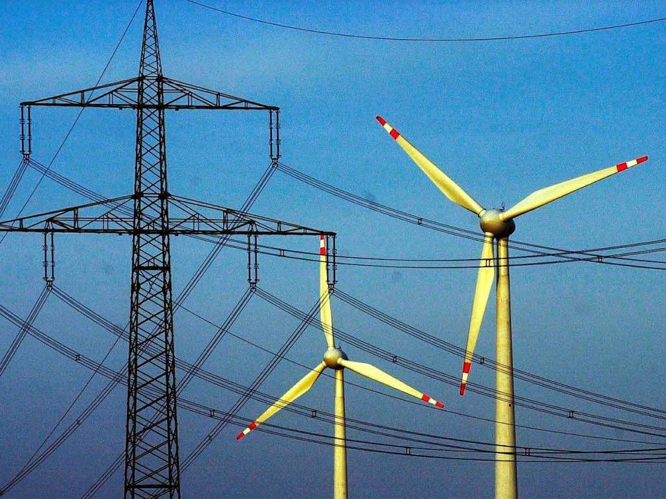 Atomkraft oder Windenergie – es ...iele Möglichkeiten, Strom zu erzeugen.  | Foto: Peter Endig