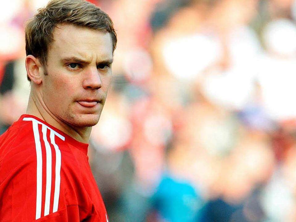 Bald kein Schalker mehr: Manuel Neuer.    Foto: dpa