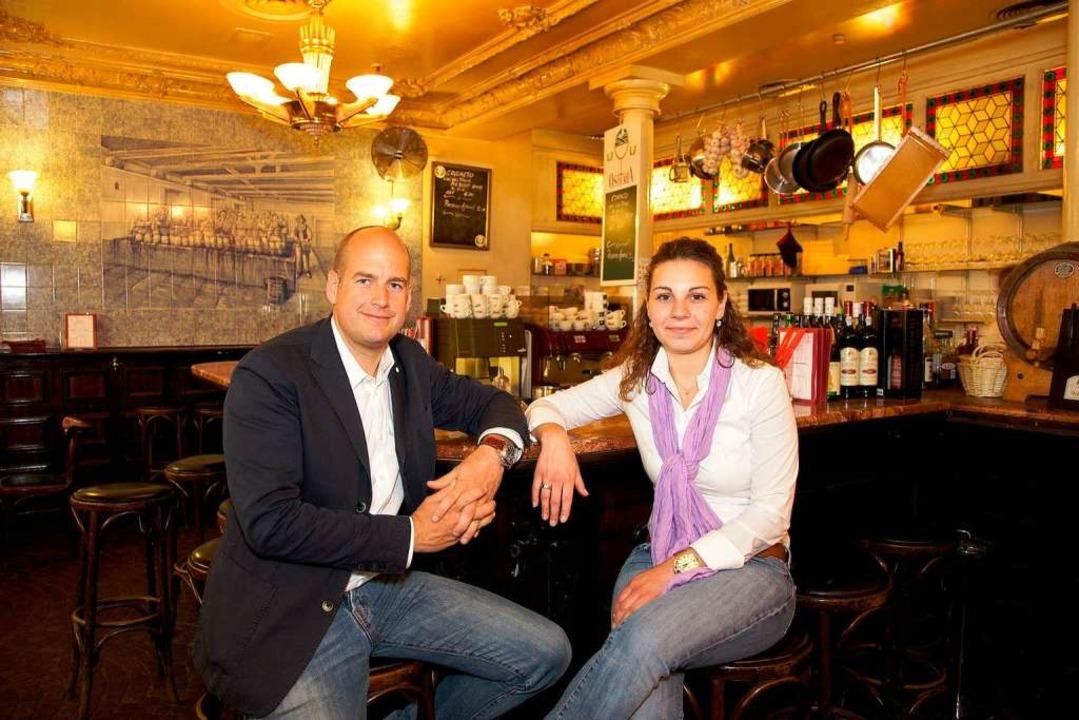 Thomas Holtz und Tina Schwarzkopf  | Foto: privat