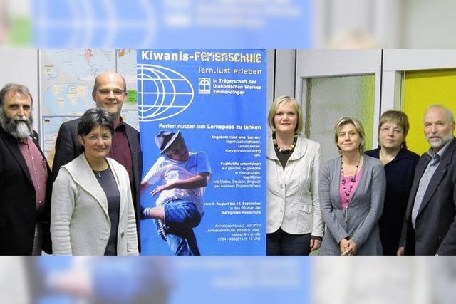 Die Kiwanis-Ferienschule soll ausgedehnt werden
