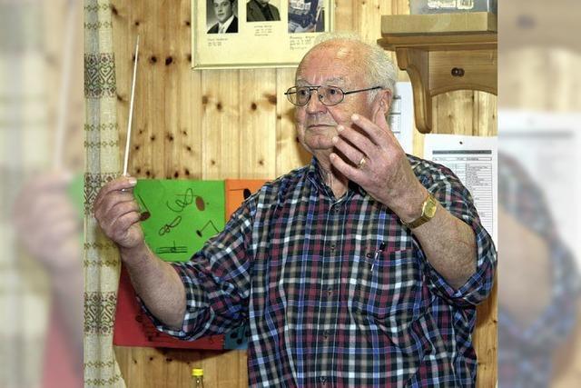 Seit 40 Jahren gibt Franz Rombach in Titisee den Takt an