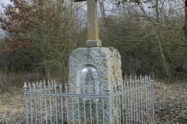 Denkmal für den ersten Unfalltoten