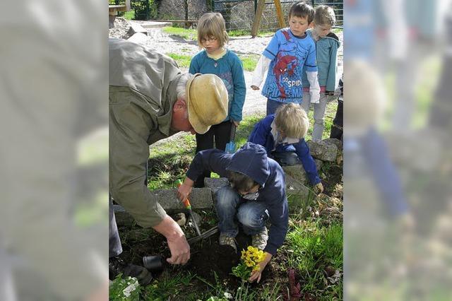 Kindergarten sucht pfiffige Senioren
