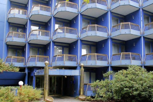 Blauenklinik bald Hotel