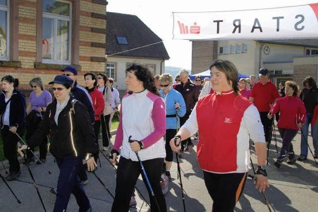 Ein fantastischer Nordic-Walking-Tag