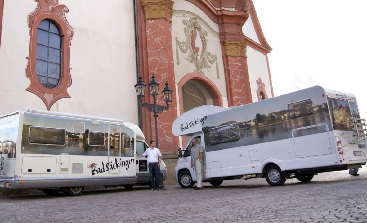 Die Nachfrage war so groß, dass die To...t zwei Bad-Säckingen-Womos vermietet.   | Foto: Janz