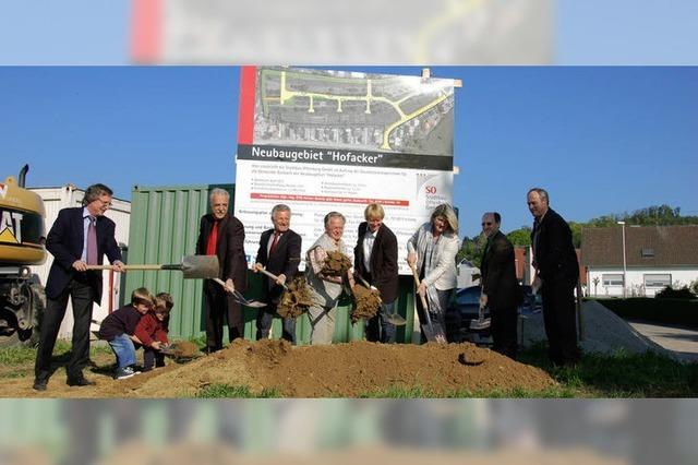 Durbach schafft 31 neue Bauplätze