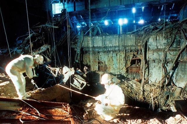 Tschernobyl: Dem Feuer entkommen