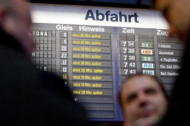 Rheintalstrecke über Ostern streckenweise gesperrt