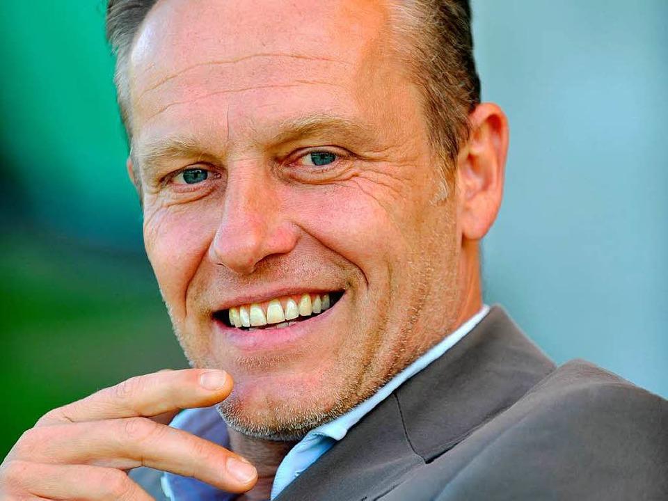 Christian Streich, zusammen mit Lars V...ehen im Finale um den Deutschen Pokal.  | Foto: Seeger