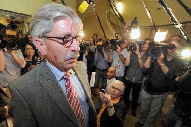 Sarrazin bleibt SPD-Mitglied