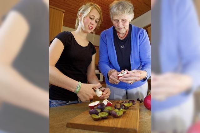 Oma sucht junge Mitbewohnerin