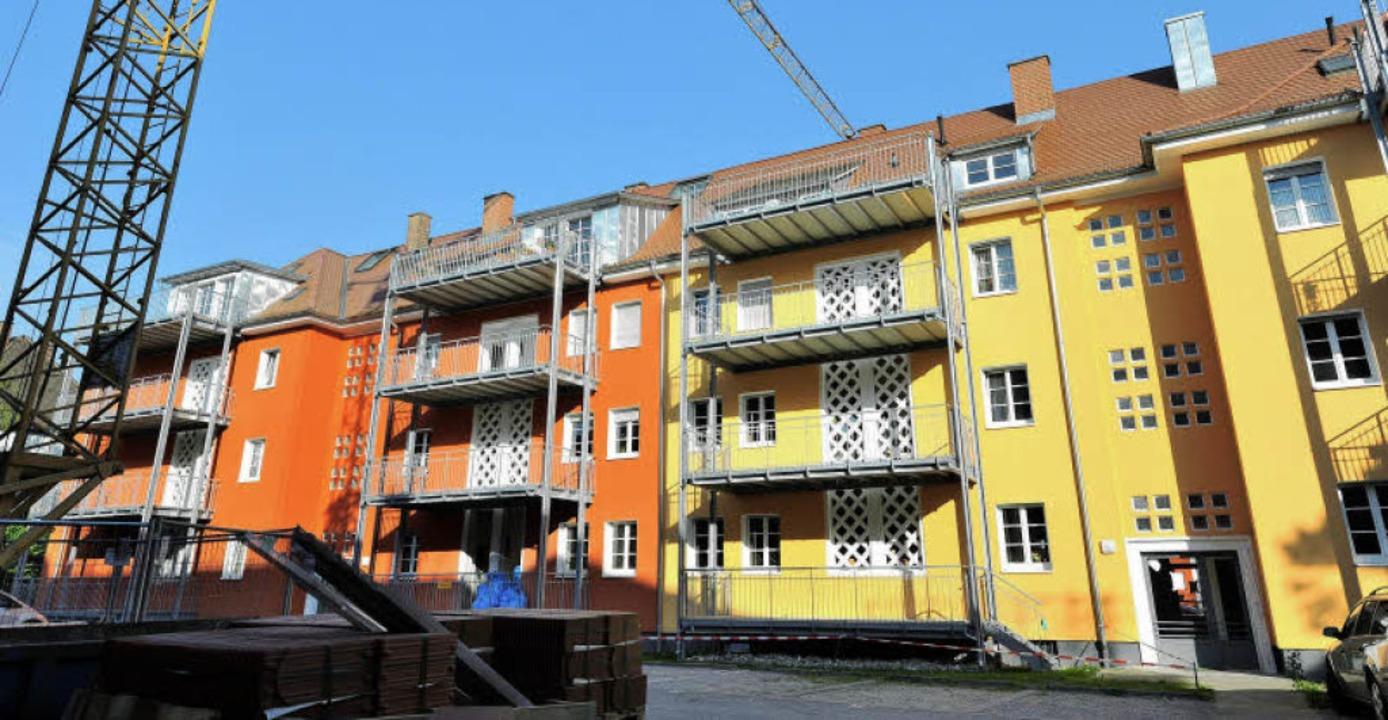 Eindrücke beim Stadtrundgang mit der B...westdeutschen Bauunion haben (unten).   | Foto: eggstein