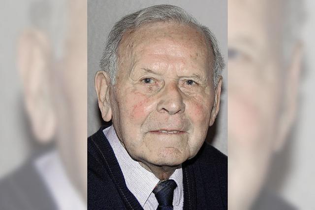 Alfred Bury wird heute 90