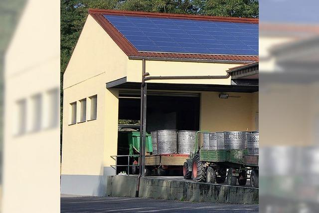 Solaranlagen nehmen zu