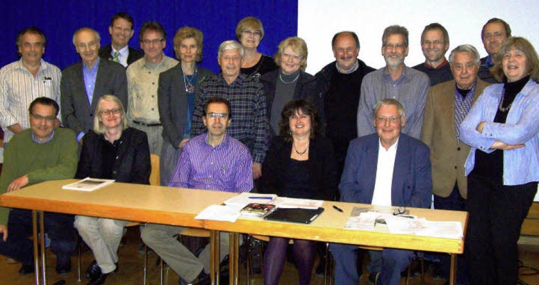Als allen Altersgruppen, Vereinen und ...and des Bürgervereins Herdern zusammen    Foto: Hans Sigmund