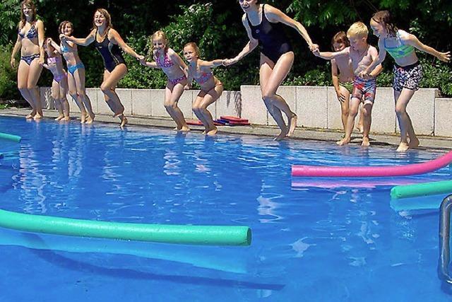 3500 Badegäste genossen das Schwimmbad Mauchen