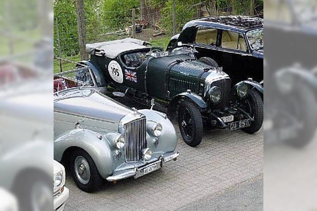 Im Rolls-Royce auf Achse
