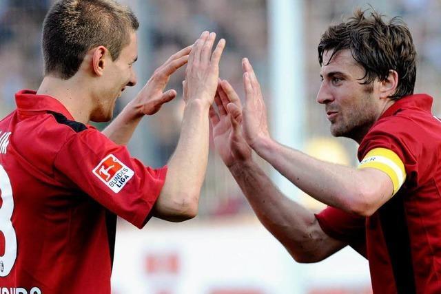 Bundesliga-Fußball ist gut für Freiburgs Image