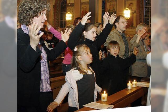 Fröhliche Osternacht speziell für Kinder