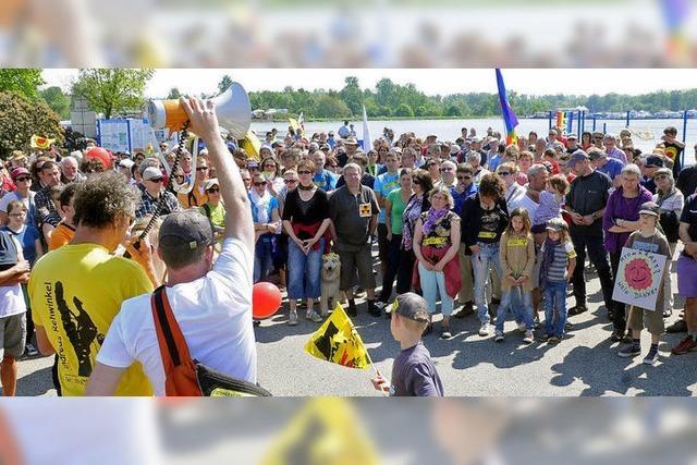 Protest gegen Atomkraft