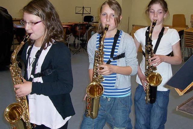 Ein großer Erfolg für drei junge Saxofonistinnen