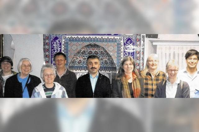Zu Gast beim Abendgebet in der Hüfinger Moschee