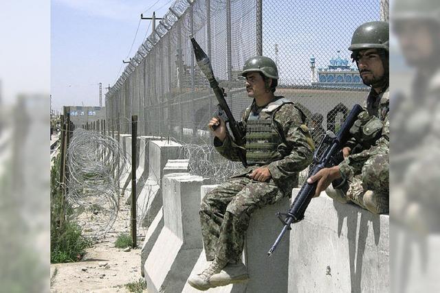 Rückschlag im Kampf gegen Taliban