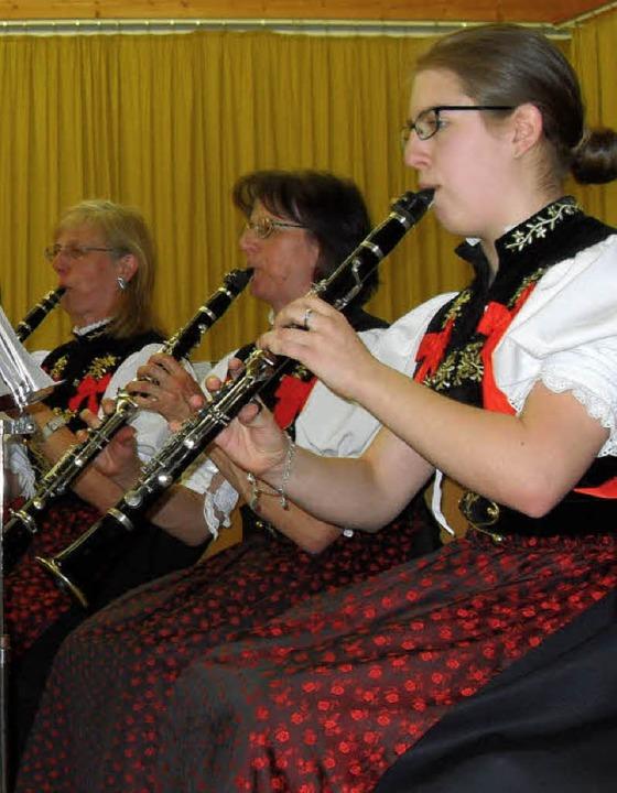Die Albtäler Musiker sorgten für einen kurzweiligen Osternachmittag.     Foto: Siegfried Krex