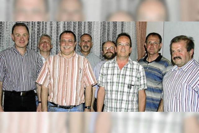 Gisbert Buchmüller führt den Männergesangverein