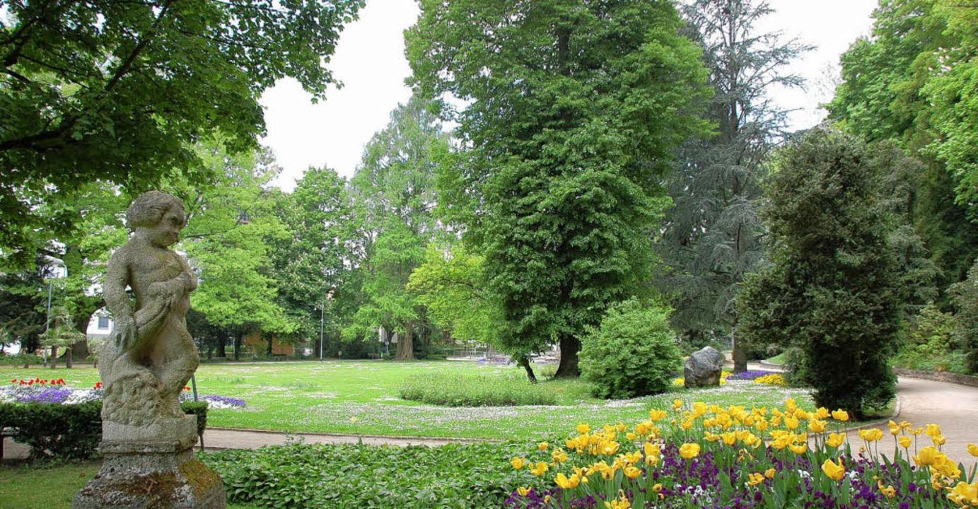 Der Rosenfelspark ist ein gewachsenes Stück Lörrach.     Foto: Nikolaus Trenz