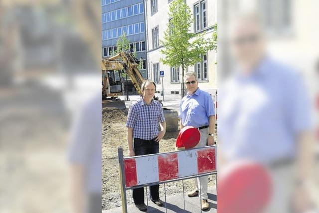 Stadt beseitigt Schäden an Straßen