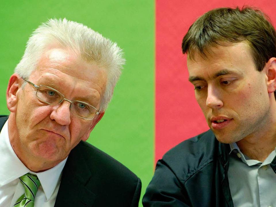 Wer wird dem Kabinett von Winfried Kretschmann und Nils Schmid angehören?  | Foto: dpa