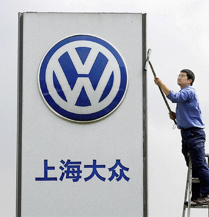 Die Chinesen schätzen die deutschen Autobauer.  | Foto: DPA