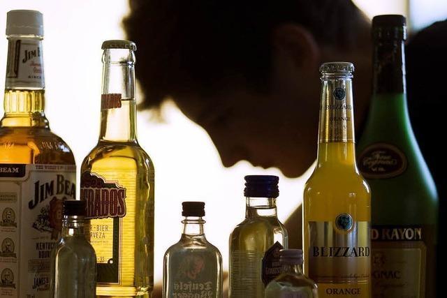 40 Flaschen Schnaps pro Jahr