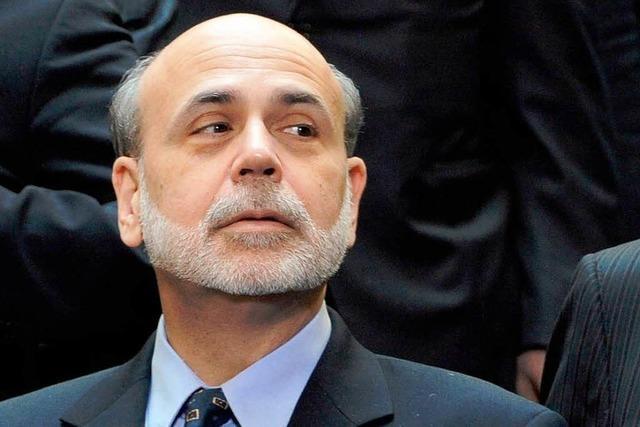 Alle warten auf Bernankes Worte
