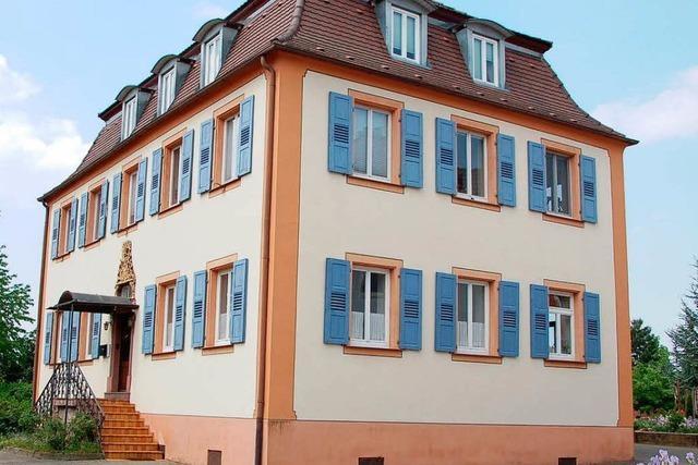 Friesenheimer Pfarrhaus wird wasserdicht