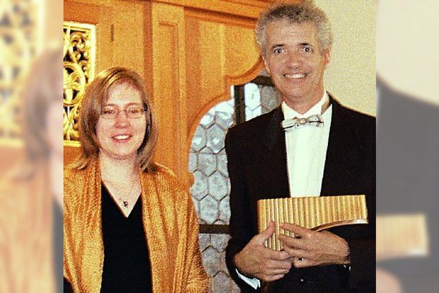 Panflöte und Orgel