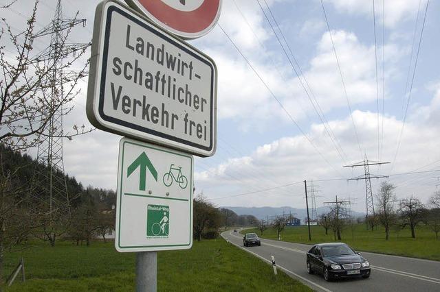 Radüberweg ist noch nicht in Sicht
