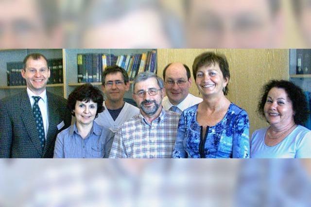 Gleich vier Dienstjubiläen in der Klinik Wehrawald
