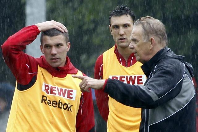 Chaos-Tage beim 1. FC Köln: Volker Finke ist als Trainer zurück
