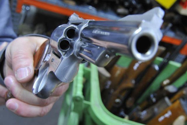 Immer mehr Freiburger geben ihre Waffen ab