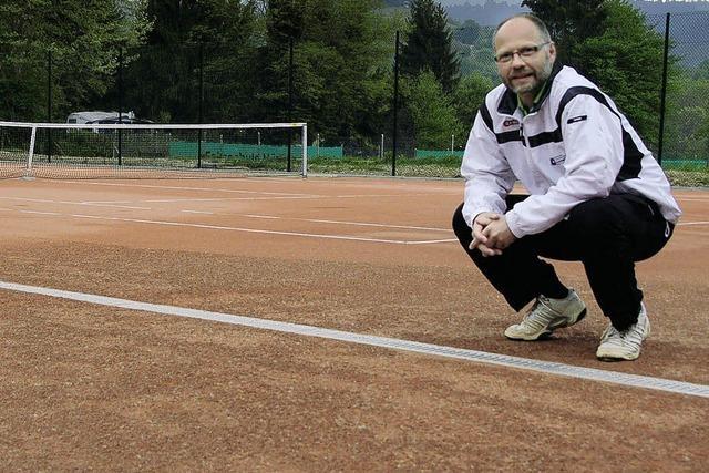 Neue Plätze laden zum Tennisspiel ein