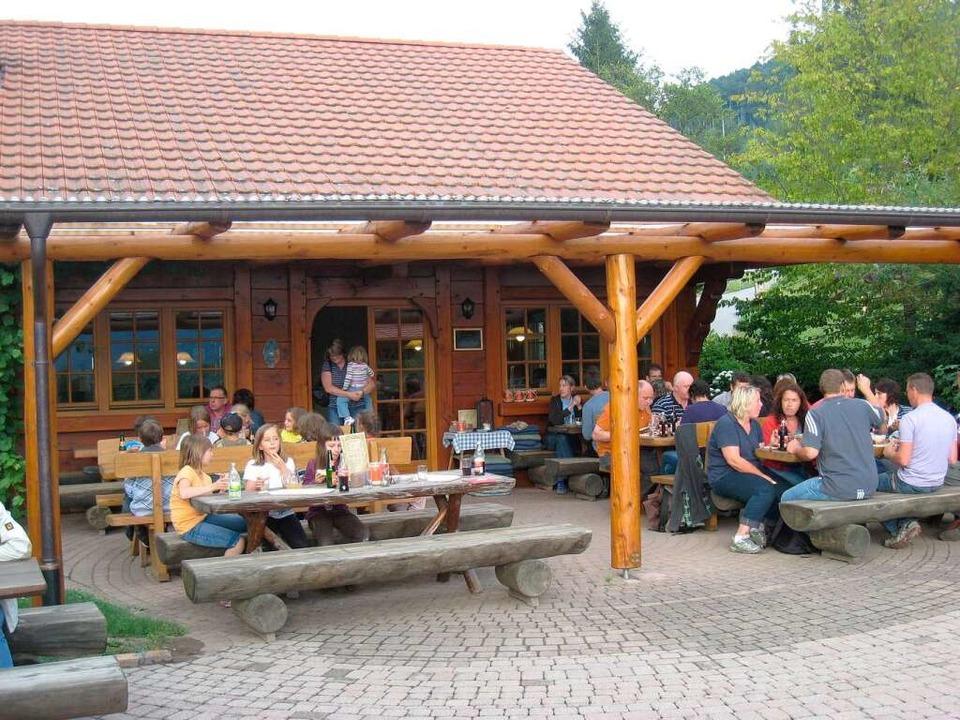 Zapfs Vesperhäusle im Schwaibachtal bei Gengenbach.    Foto: Helmut Seller