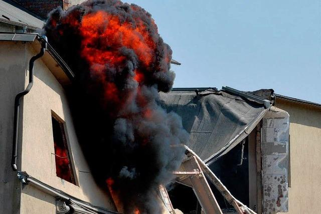 Fabrik-Sprengung: Verletzter Zuschauer stellt Anzeige