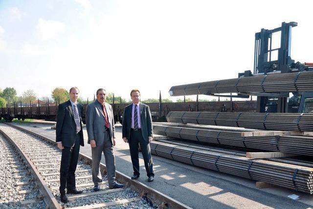 Spedition Kleyling: Neues Gleis spart 1000 Lastwagen im Jahr