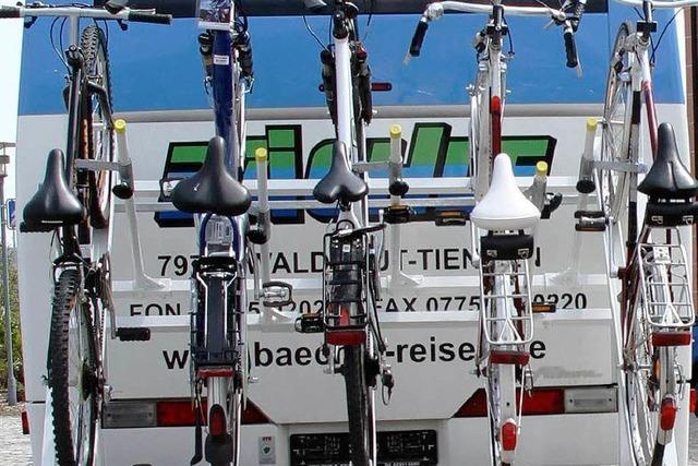 Landrat stellt Radbus vor
