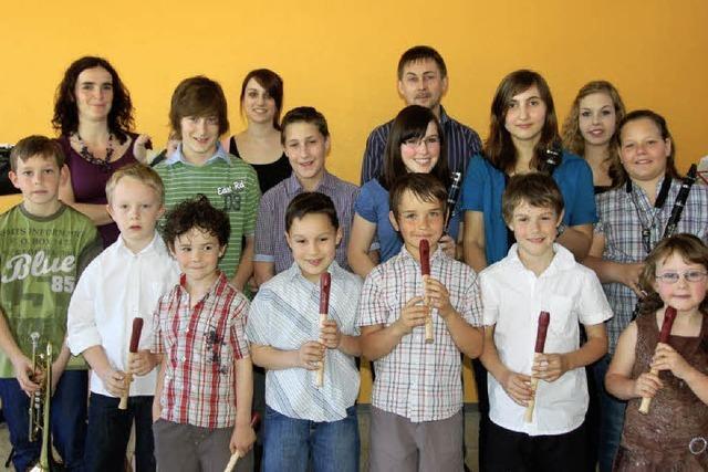 Viel Beifall für junge Akteure