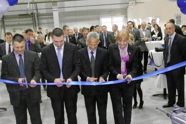 Dunker eröffnet Werk in Serbien